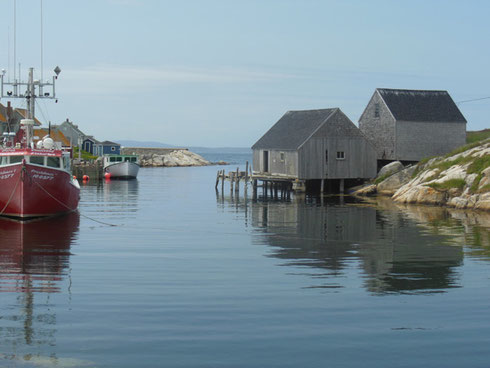 2015 We Enjoyed a Beautiful Day at Peggy's Cove in Nova Scotia while on a Shore Excursion