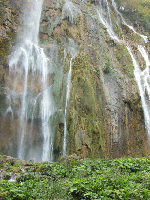 The Great Falls at Plitvice Lakes National Park are an Awe-Inspiring Sight