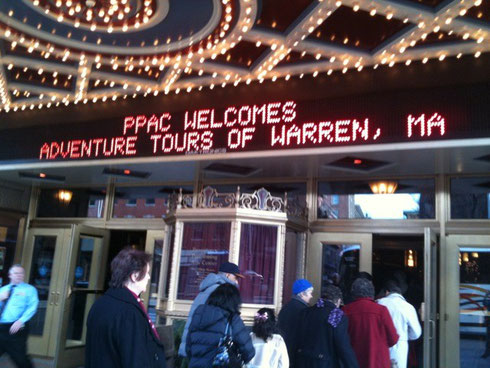Providence Performing Arts Center Welcomes Adventure Tours of Warren!