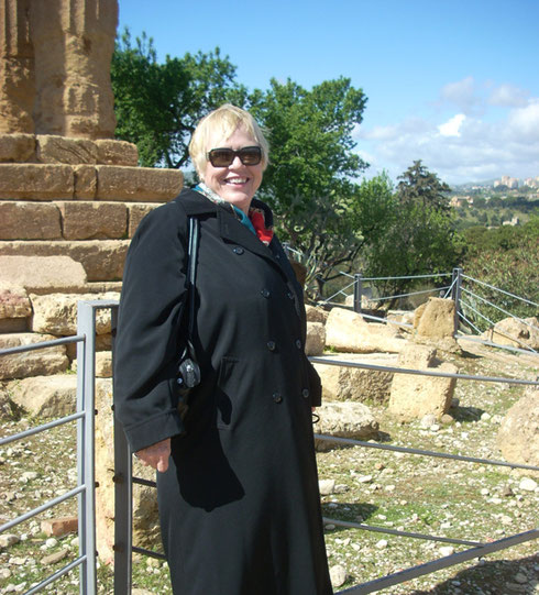 2011 Agrigento has the Best Greek Architecture outside Greece - here Temple of Hera