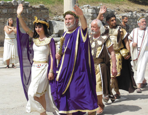 2013 A Pageant in the Forum at a Shore Excursion in Ephesus, Turkey