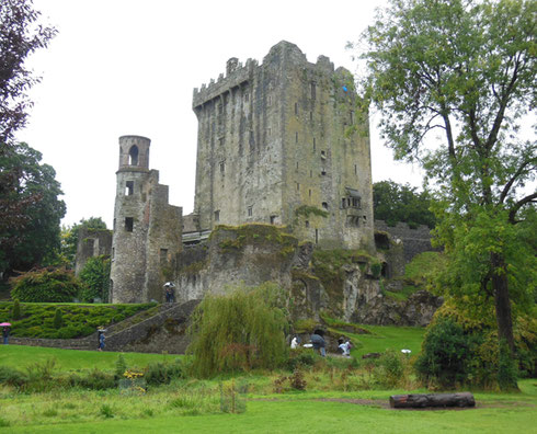 2015 Blarney Castle Still Stands Guard over its Blarney Stone  on the Upper Level