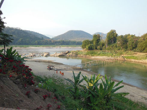 2015 The confluence of the Mekong and Nam Khan Rivers was within walking distance