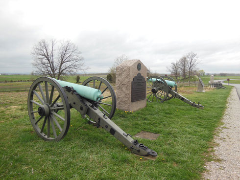 2013 A Visit to the Gettysburg Battlefields Took us a Whole Day on this Tour