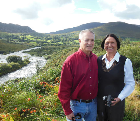 2015 We Posed at the Scenic Lower Carragh River in Beautiful Glenbeigh
