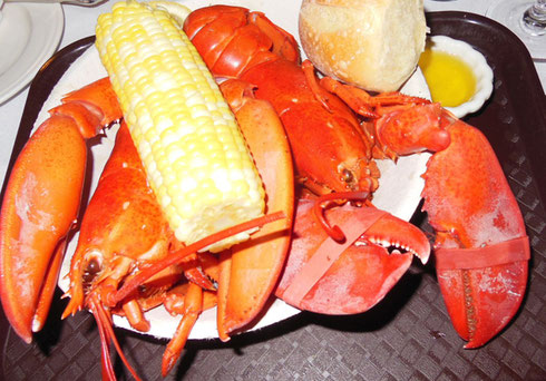 2013 Every Year, the Chef at the Boothbay Harbor Inn Creates a Twin Lobster Special for us