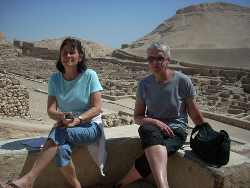 2009 The Workmen who Built the Tombs in the Valley of Kings lived here in Deir el Medina