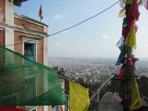 2013 The City of Kathmandu can be Viewed from the Terrace of the Monkey Temple