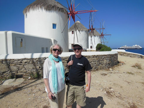 2013 Mykonos - The Windmills are among the Most Photogenic in the World