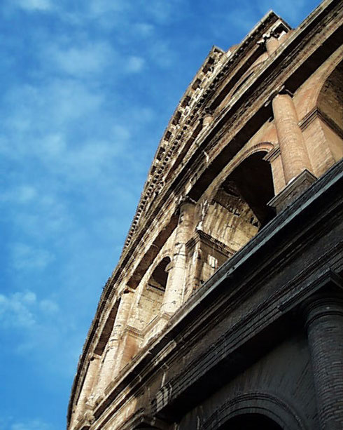 2005 The Coliseum in Rome is adjacent to the Forum and is a Must-See Destination