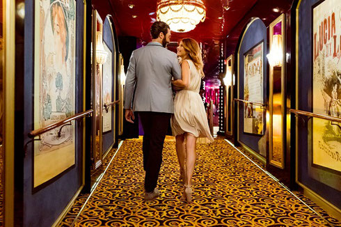 Norwegian Pearl's Newly Refurbished Stardust Theater Provides Nightly Entertainment