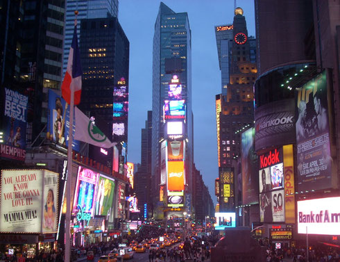 The Thrill of Time Square's Bright Lights Awaits You!