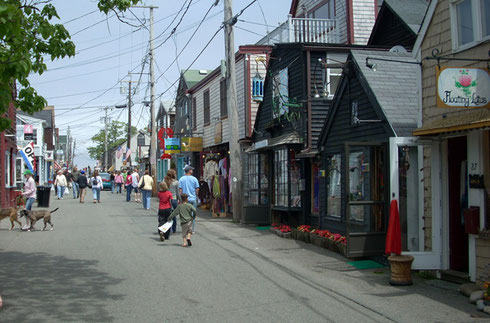 So many Shops - Let's See if You Can Visit the All in One Afternoon at Rockport