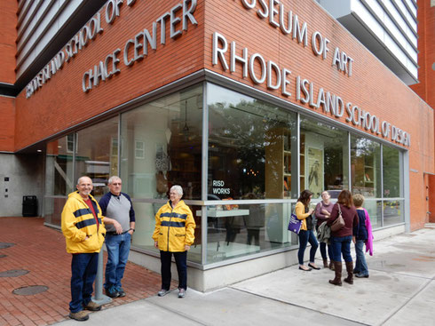 The Rhode Island School of Design Museum was one of the highlights of our day