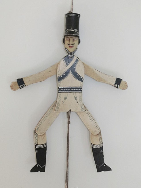 Folk art  jumping jack