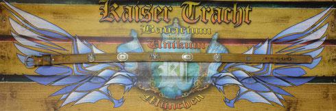 Kaiser Tracht Trachtengürtel, Echtleder, Leder, Gürtel, Ledergürtel, Unikat, hochwertige Beschlagteile