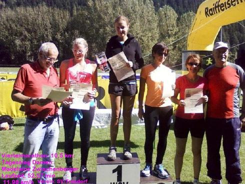 """2012-09-15 - """"MöllLäuferin"""" gewinnt im Drautal"""