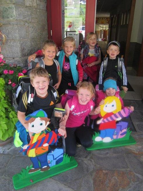 Schulbeginn 2014 -alles Gute den Tresdorfer Taferlklasslern ...