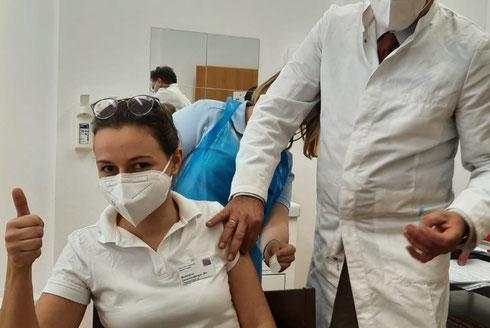 Endlich ... Start der Corona-Schutzimpfung im Jänner 2021 in den Pflegeeinrichtungen