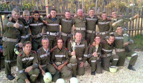 19. Juli: In Treffling waren die Treffzeiten der 9. und 10. Gruppe noch nicht top, aber es sind ja noch 3 Bewerbe bis zum Cup-Finale ...