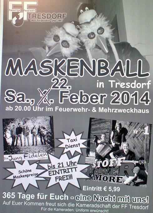 Das war der Makenball 2014...:)