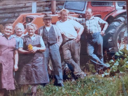 Aus dem Archiv: Zeit für ein Foto ... nach getaner Arbeit auf der Machnigalm