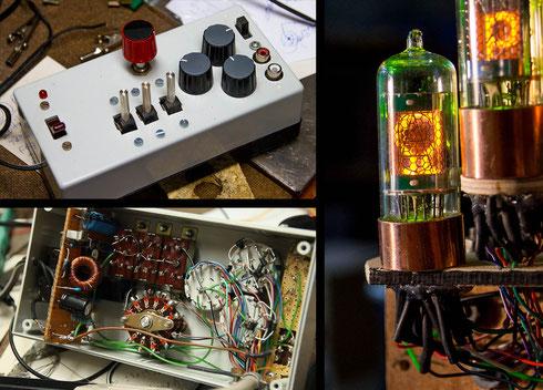 Diesmal ist offenbar auch ein bischen selbstgelötete Elektronik nötig - Was könnte das wohl werden?