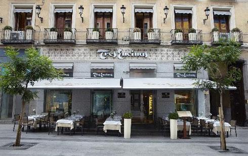Restaurante recomendado Madrid centro