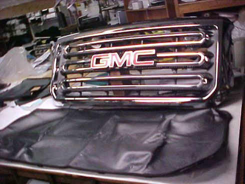 OEM GMC Sierra Winter Front Grille Cover