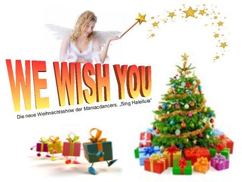 Showact, Weihnachtsshow buchen, für Ihre Firmenfeier