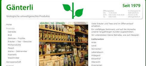 bioladen solothurn