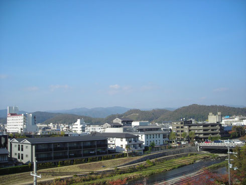 京都 高野 カナートから