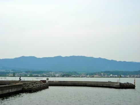 琵琶湖 東岸から