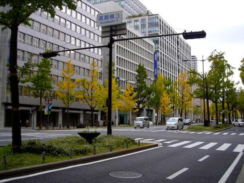 大阪中央区 御堂筋