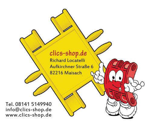 clics-shop.de - Richard Locatelli - Aufkirchner Straße 6 - 82216 Maisach - 08141 5149940