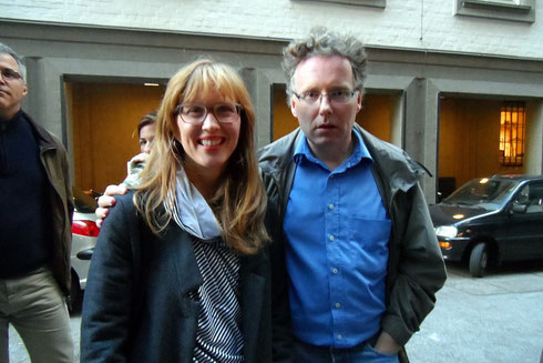 Verena Wolfien, who plays Jule, and director Michael O'Connor