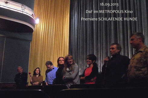 From left to right: John Kirby, Ninon Schubert, Michael O'Connor, Marco Mehring, Verena Wolfien, Vanessa Catalán Sánchez, Hans-Christoph Michel, Frank Mertens