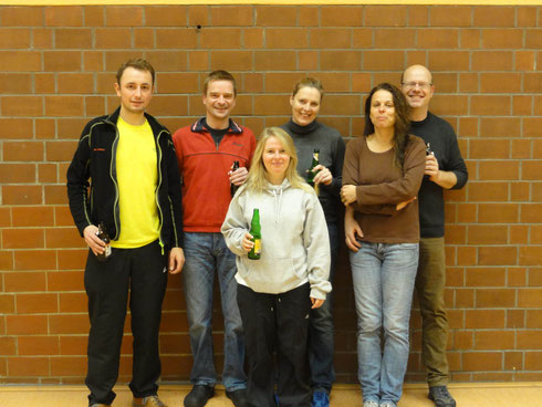 Eppler Mixed Team am 23.11.2014 in Mühlhausen