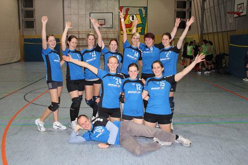 Die Damen beim Spieltag in Bretsch am 24.11.2012