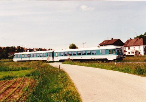 Dienstag, 24. Mai 1994: Neuer 628er Triebwagen vertritt den von mir erwarteten Schienenomnibus