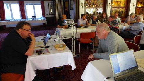 Zwei WDP-Betatester: Bernd Senger im Gespräch mit Edwin Schefold aus Düren