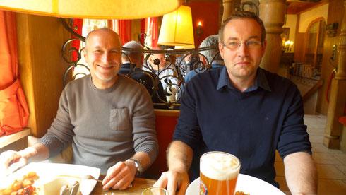 """Zwei unserer """"Jüngsten"""": Robert Huber und Stefan Kahlhammer."""