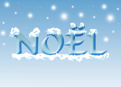Effet neige sur texte