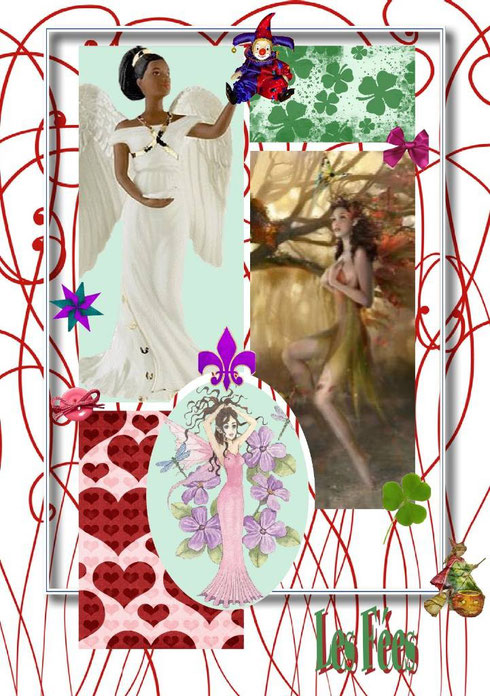fées, scrap, scrap digital, scrapbooking