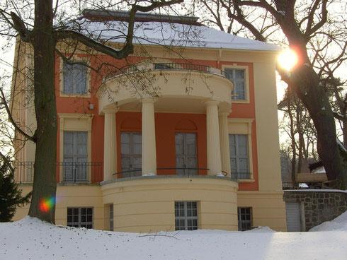 Filme über unsere Heimat sehen sie, wenn sie auf das Schloss Freienwalde klicken