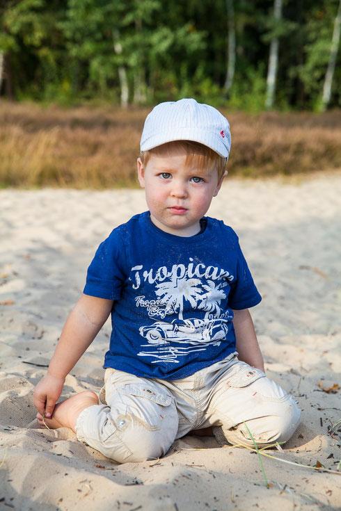 professionelle Kinderfotos Outdoor