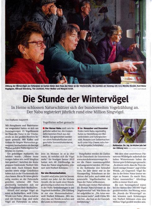 WAZ Herne v. 06.01.2014