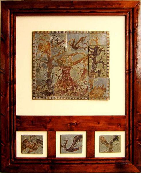 Hércules y los pájaros del lago Estínfalo
