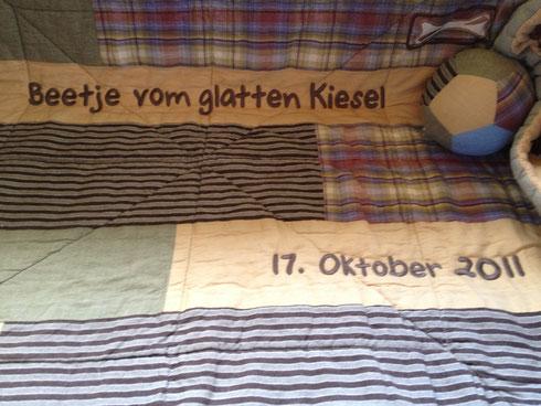 Beetje's Kuscheldecke