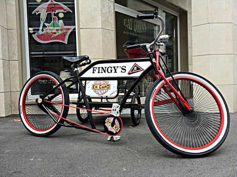 Fingy's bicycle